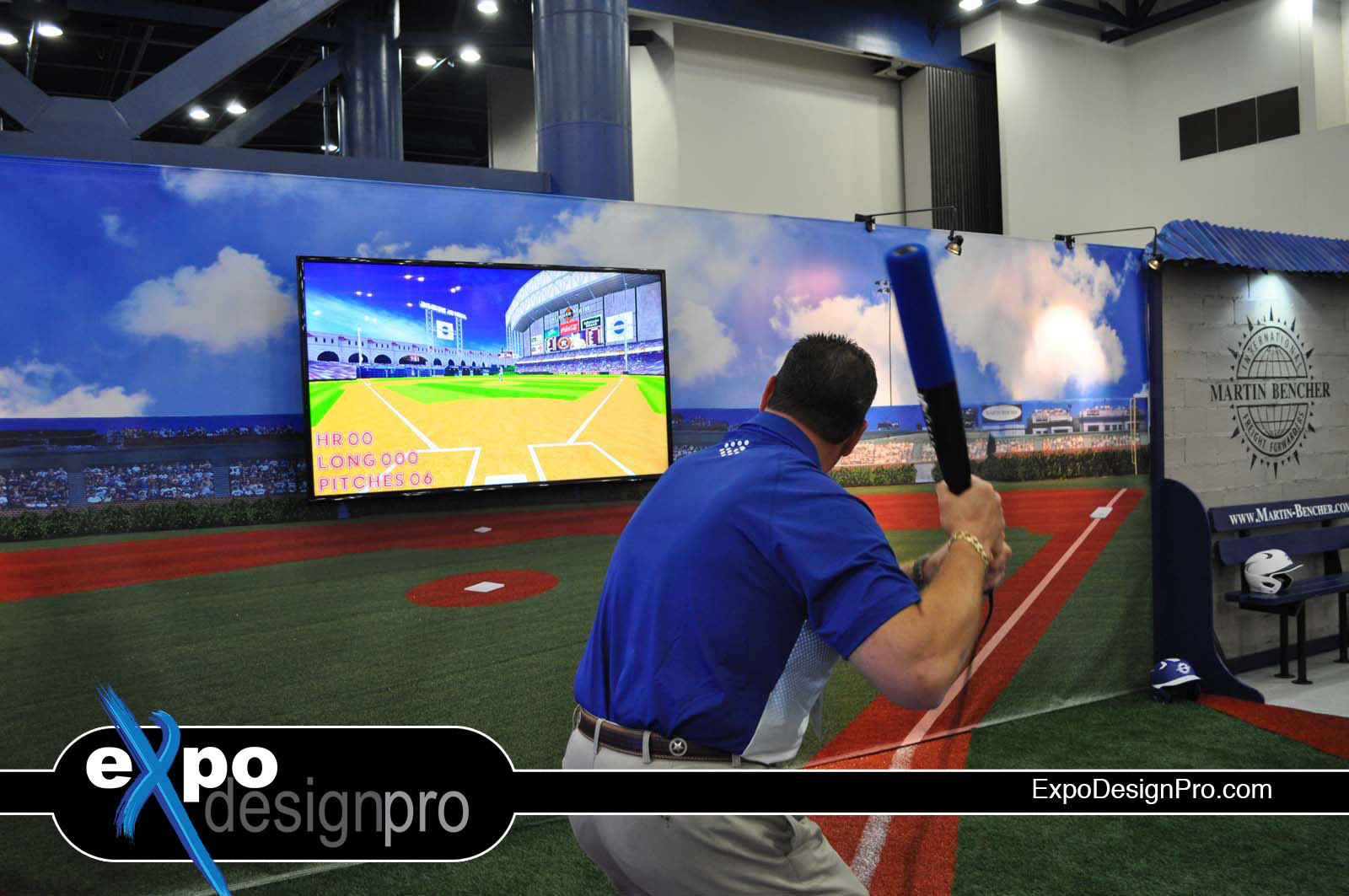 Do you need a baseball trade show design for your business? Call on Expo Design Pro to help you.